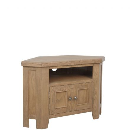 Henley Oak Corner TV Unit